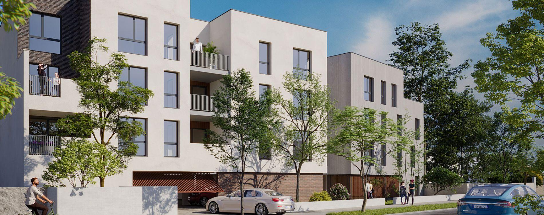Villenave-d'Ornon : programme immobilier neuve « Confidentiel » en Loi Pinel