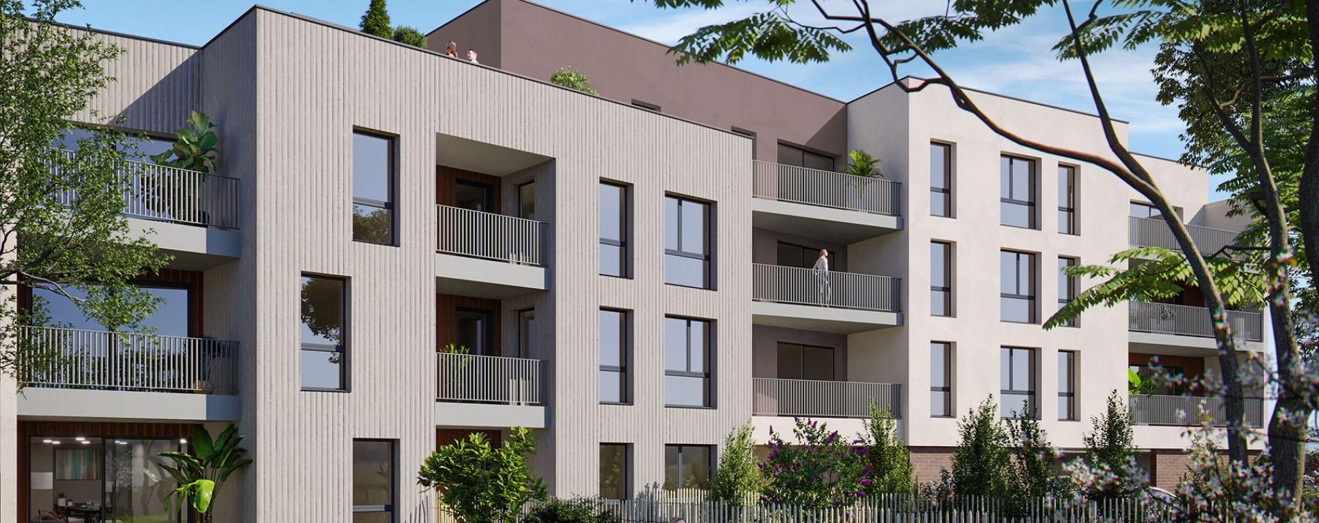 Villenave-d'Ornon : programme immobilier neuve « Confidentiel » en Loi Pinel (2)