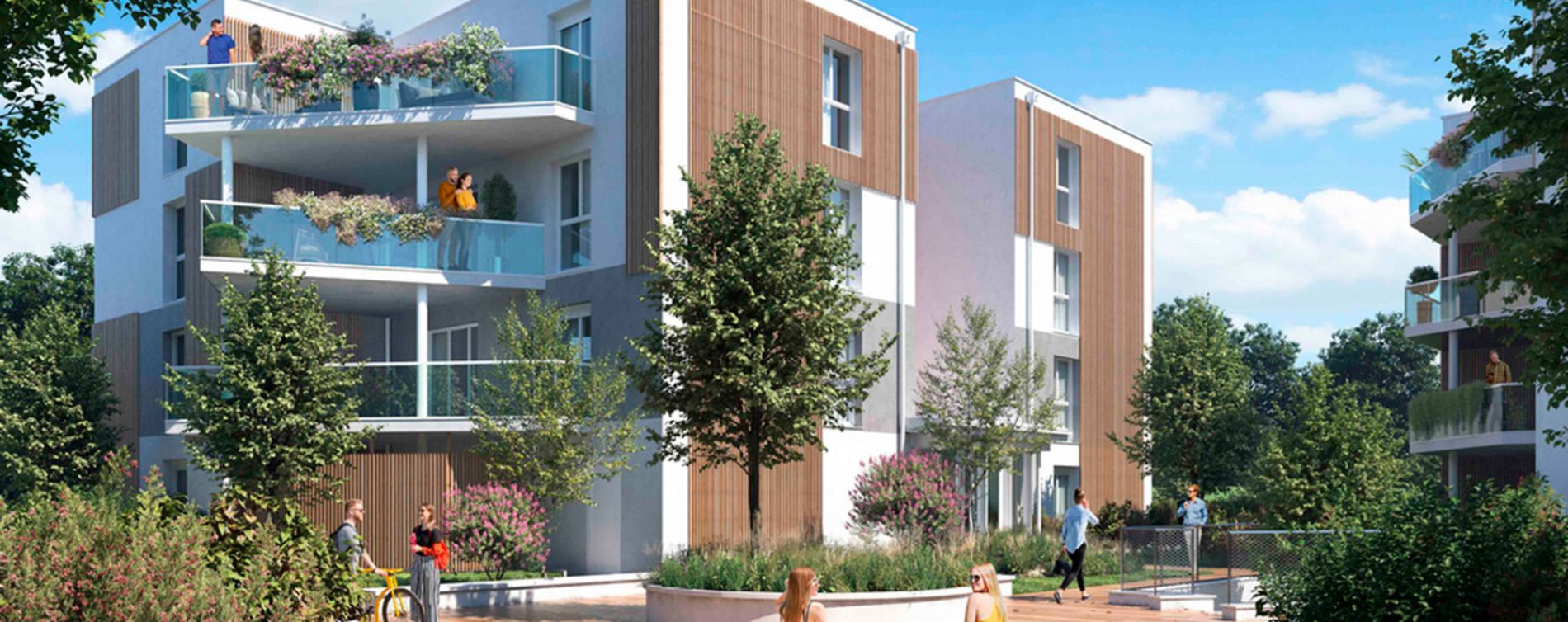 Villenave-d'Ornon : programme immobilier neuve « Domaine de Beunon » en Loi Pinel