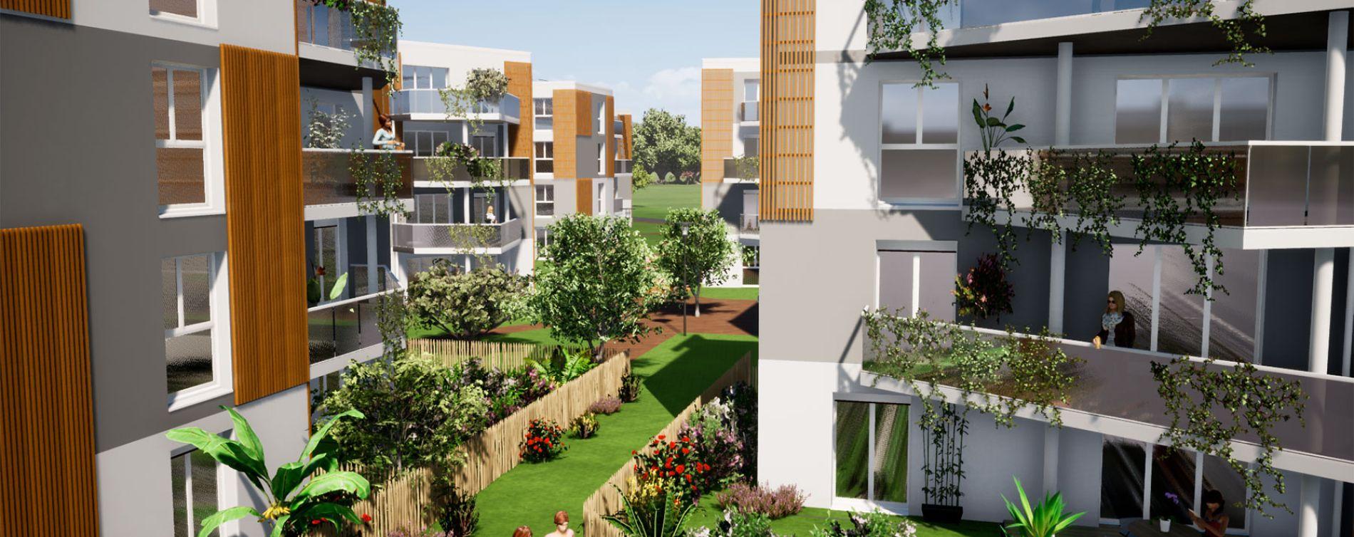 Villenave-d'Ornon : programme immobilier neuve « Domaine de Beunon » en Loi Pinel (3)