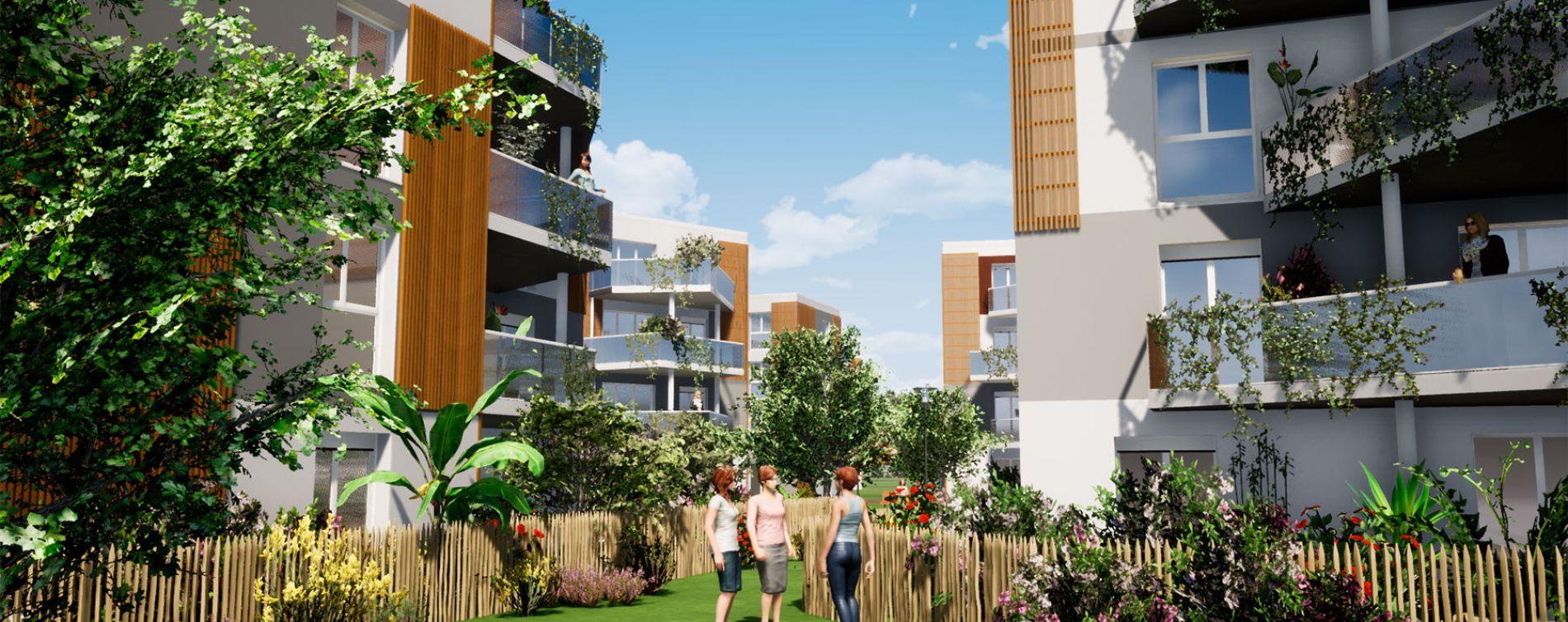 Villenave-d'Ornon : programme immobilier neuve « Domaine de Beunon » en Loi Pinel (5)