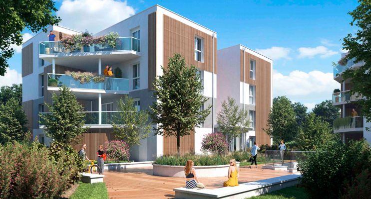 Photo du Résidence « Domaine de Beunon » programme immobilier neuf en Loi Pinel à Villenave-d'Ornon