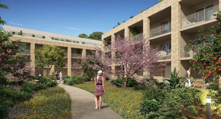 Villenave-d'Ornon : programme immobilier neuf « Esprit Parc » en Loi Pinel