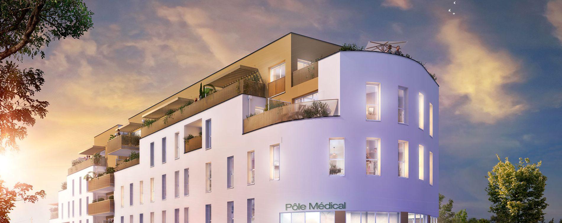 Villenave-d'Ornon : programme immobilier neuve « Gavarnie » en Loi Pinel
