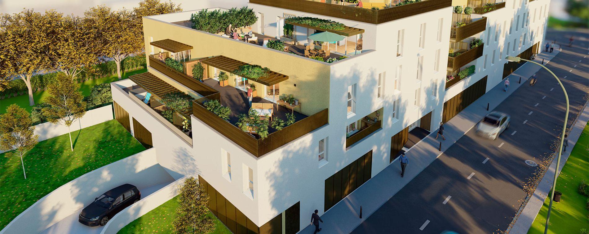 Villenave-d'Ornon : programme immobilier neuve « Gavarnie » en Loi Pinel (2)