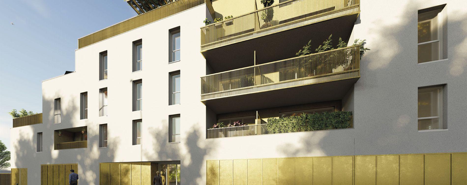 Villenave-d'Ornon : programme immobilier neuve « Gavarnie » en Loi Pinel (3)