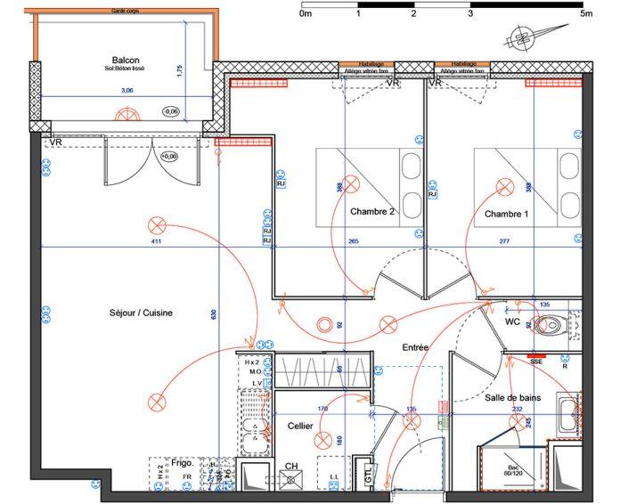 Appartement t3 villenave d 39 ornon n 340 ouest for Chambre d agriculture haute corse