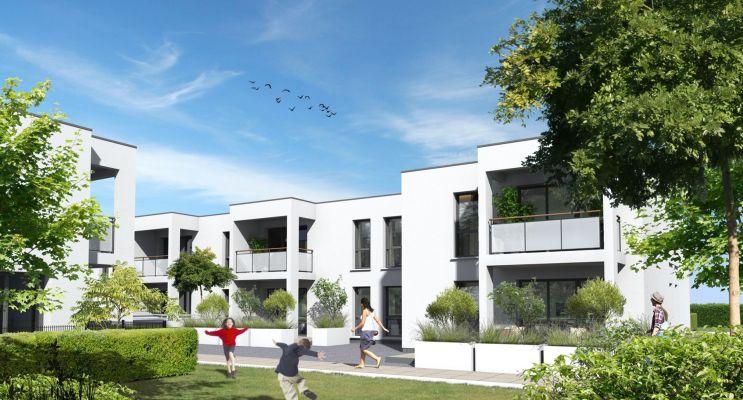 Villenave-d'Ornon : programme immobilier neuf « Le Clos du Golf » en Loi Pinel