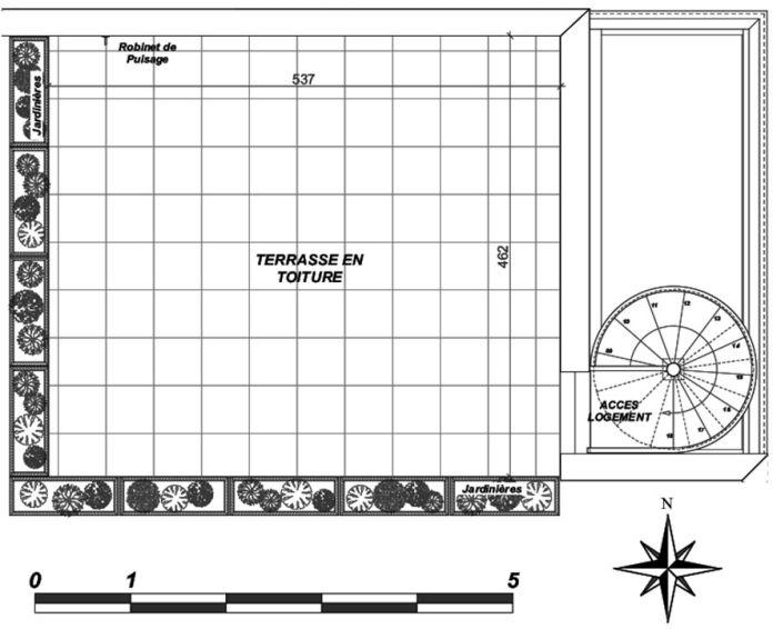 Plan T3 neuf à Villenave-d'Ornon de