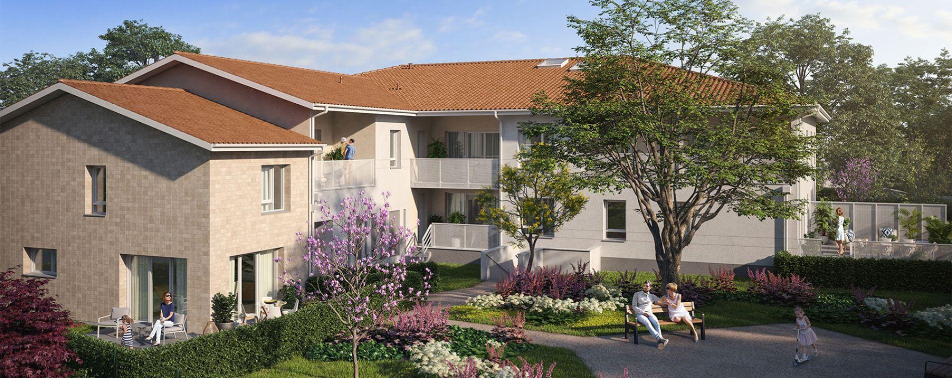 Villenave-d'Ornon : programme immobilier neuve « Le Jardin d'Amanieu »