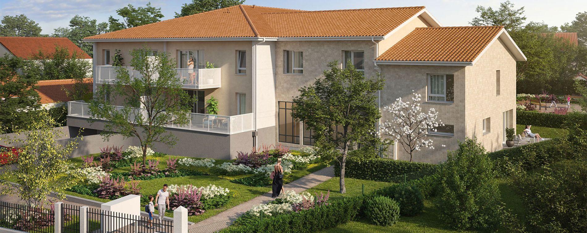 Villenave-d'Ornon : programme immobilier neuve « Le Jardin d'Amanieu » (2)