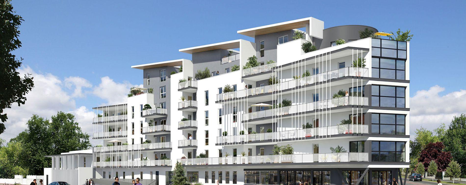 Villenave-d'Ornon : programme immobilier neuve « Le Métropolitain »