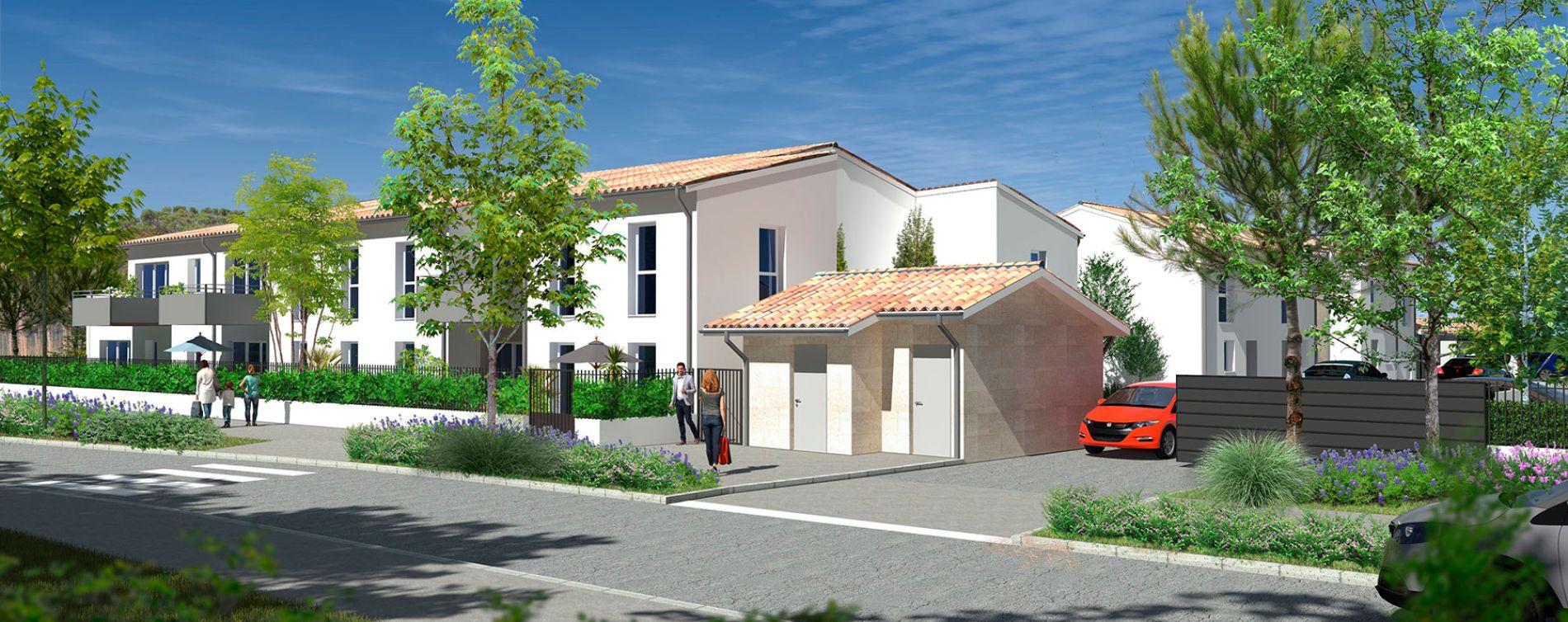 Villenave-d'Ornon : programme immobilier neuve « Les Jardins d'Adèle » en Loi Pinel