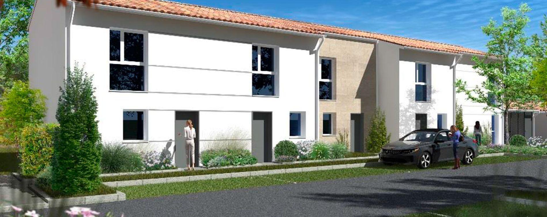 Villenave-d'Ornon : programme immobilier neuve « Les Jardins d'Adèle » en Loi Pinel (2)
