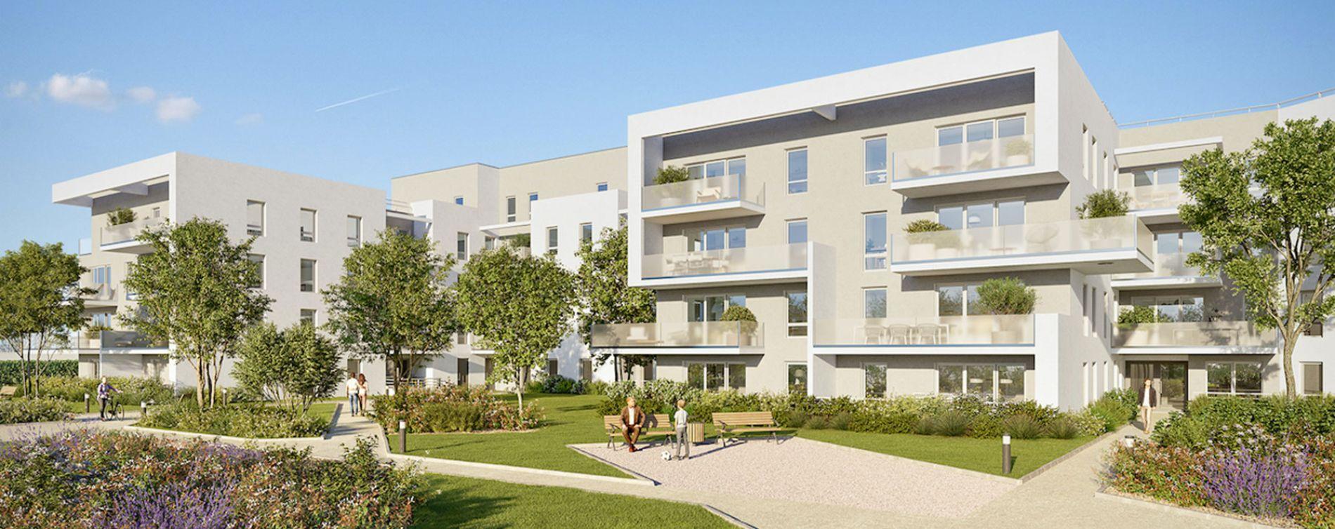 Villenave-d'Ornon : programme immobilier neuve « Les Ornes du Lac » en Loi Pinel