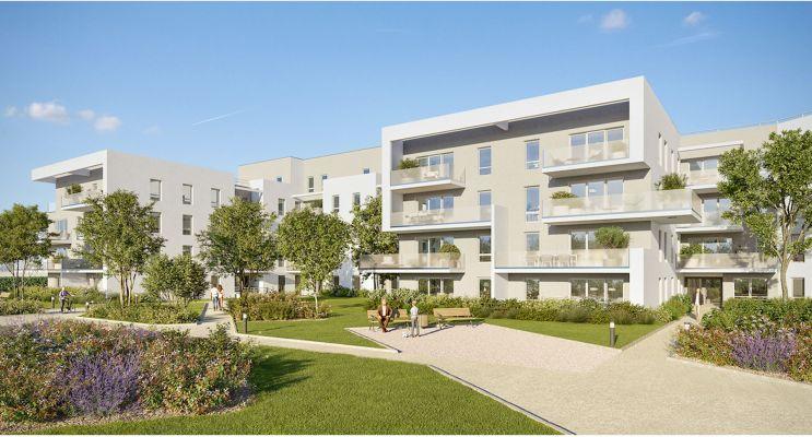 Villenave-d'Ornon : programme immobilier neuf « Les Ornes du Lac » en Loi Pinel