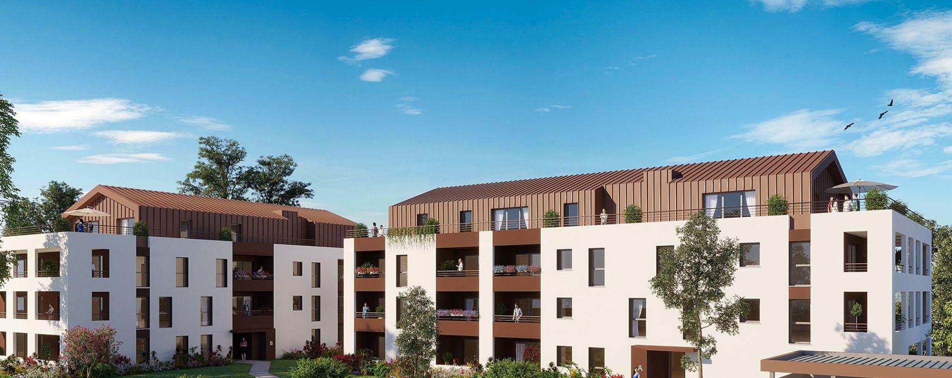 Résidence Les Terrasses de Leyran à Villenave-d'Ornon