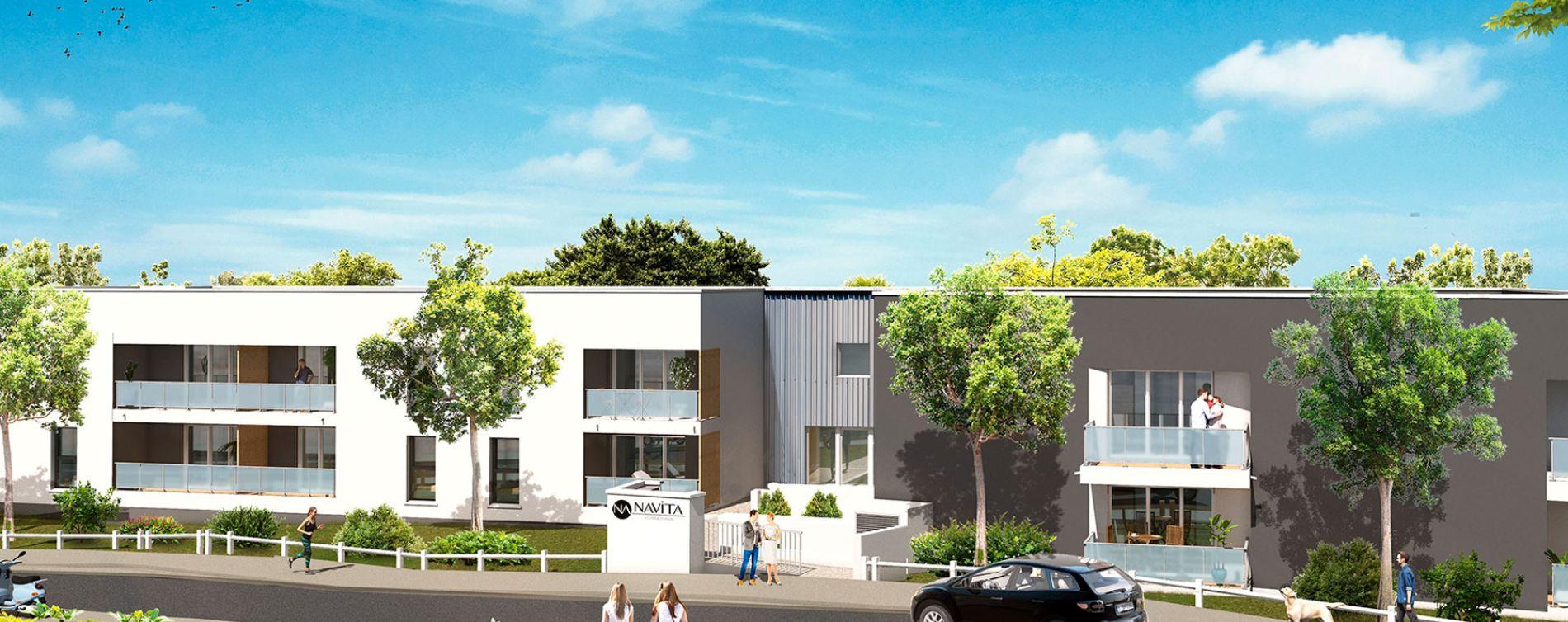 Villenave-d'Ornon : programme immobilier neuve « Navita » en Loi Pinel