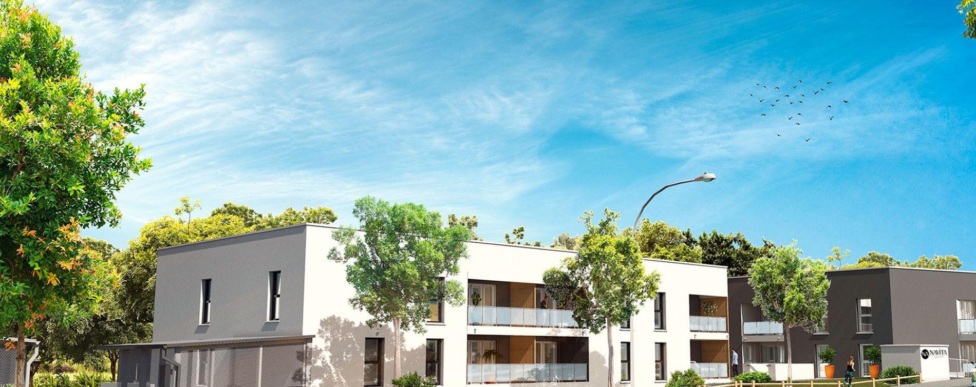 Villenave-d'Ornon : programme immobilier neuve « Navita » en Loi Pinel (2)