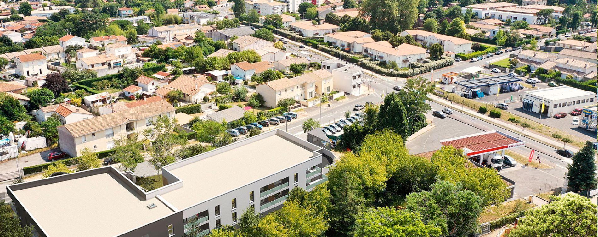 Villenave-d'Ornon : programme immobilier neuve « Navita » en Loi Pinel (4)