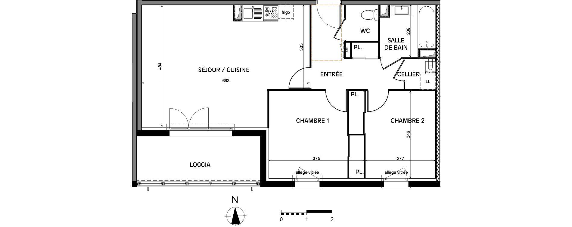 Appartement T3 de 67,15 m2 à Villenave-D'Ornon Villenave d ornon chambery