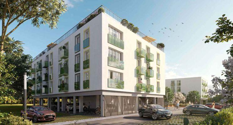 Résidence « Ver'Tige » programme immobilier neuf en Loi Pinel à Villenave-d'Ornon n°2