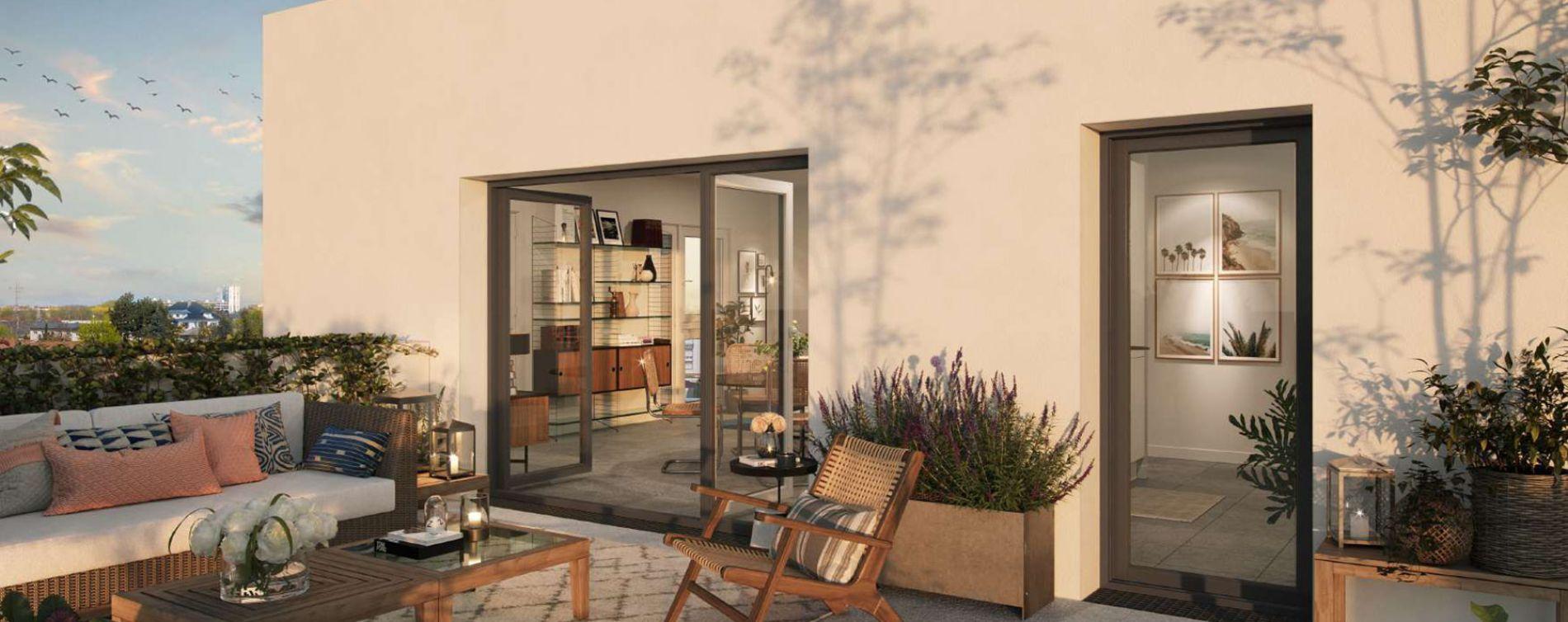Limoges : programme immobilier neuve « Grand Angle » en Loi Pinel