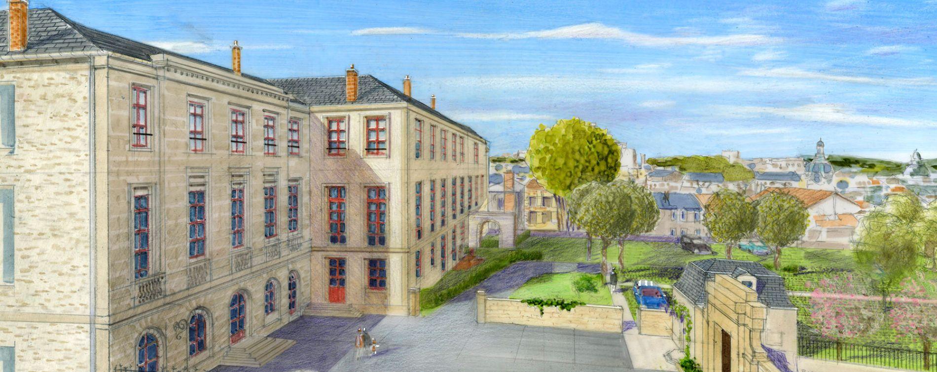 Résidence L'Ecole du Présidial à Limoges