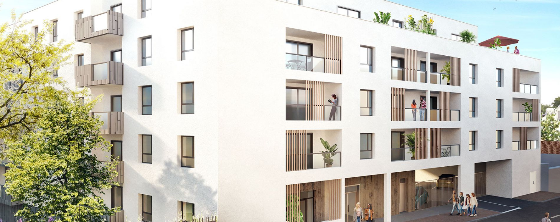 Limoges : programme immobilier neuve « Opaline » en Loi Pinel