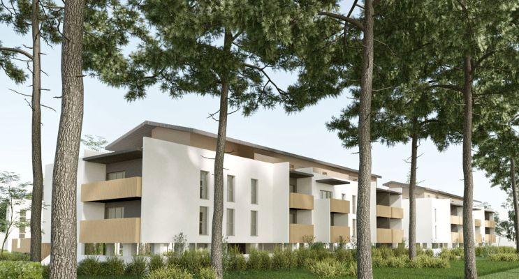 Photo du Résidence « Arcancia » programme immobilier neuf en Loi Pinel à Biscarrosse