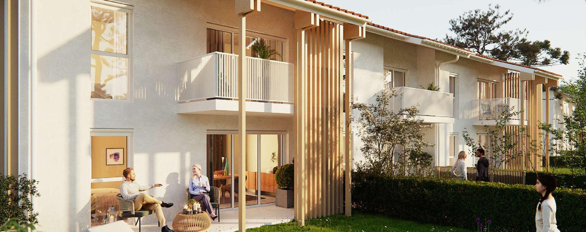 Biscarrosse programme immobilier neuve « Le Bois de Lili »