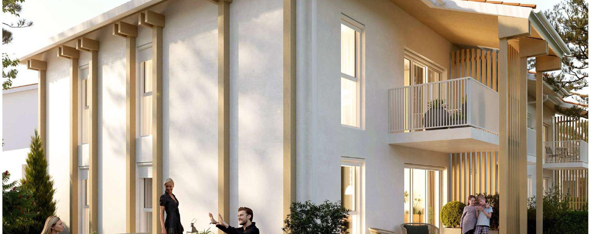 Biscarrosse programme immobilier neuve « Le Bois de Lili »  (2)