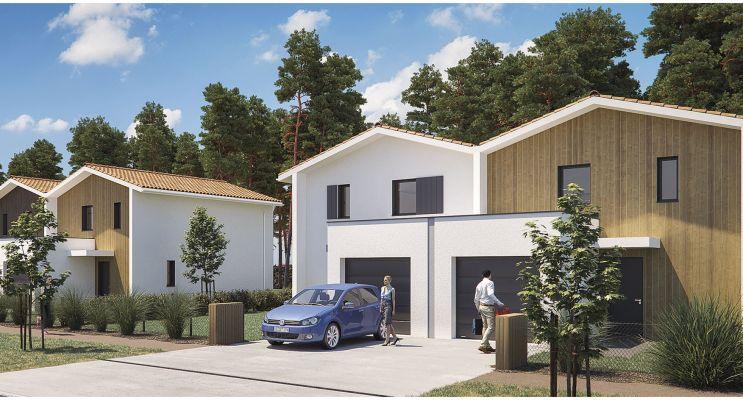 Photo du Résidence « Les Villas De Lapuyade » programme immobilier neuf à Biscarrosse