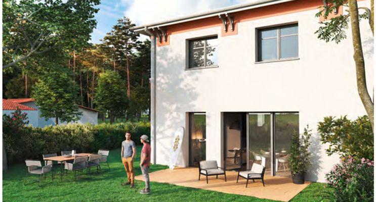 Résidence « Villa Baéri » programme immobilier neuf en Loi Pinel à Biscarrosse n°2