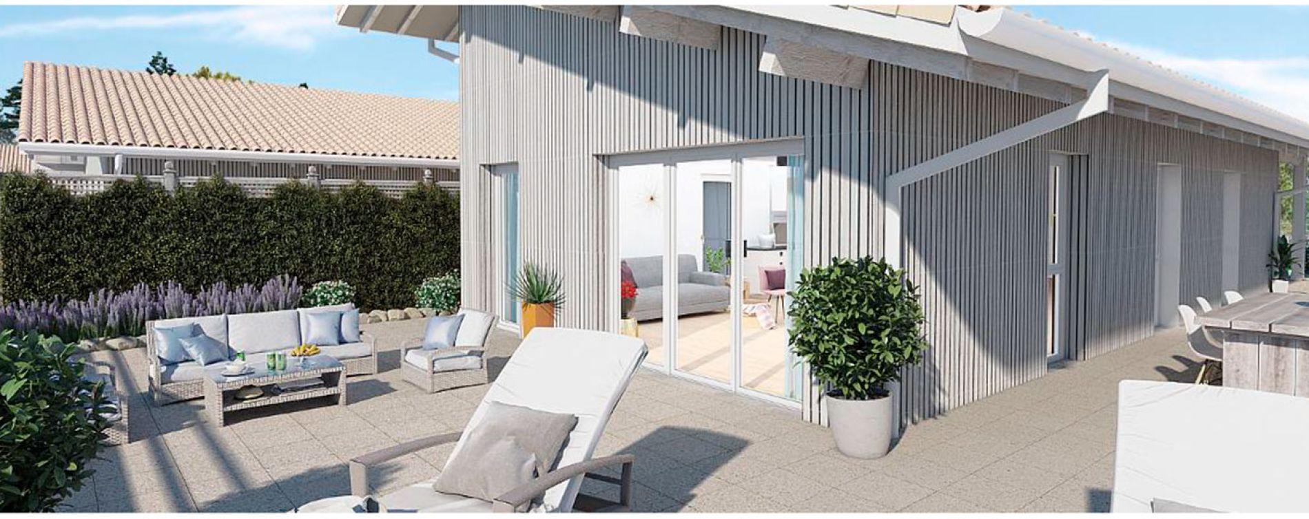 Capbreton : programme immobilier neuve « Origin'Air »