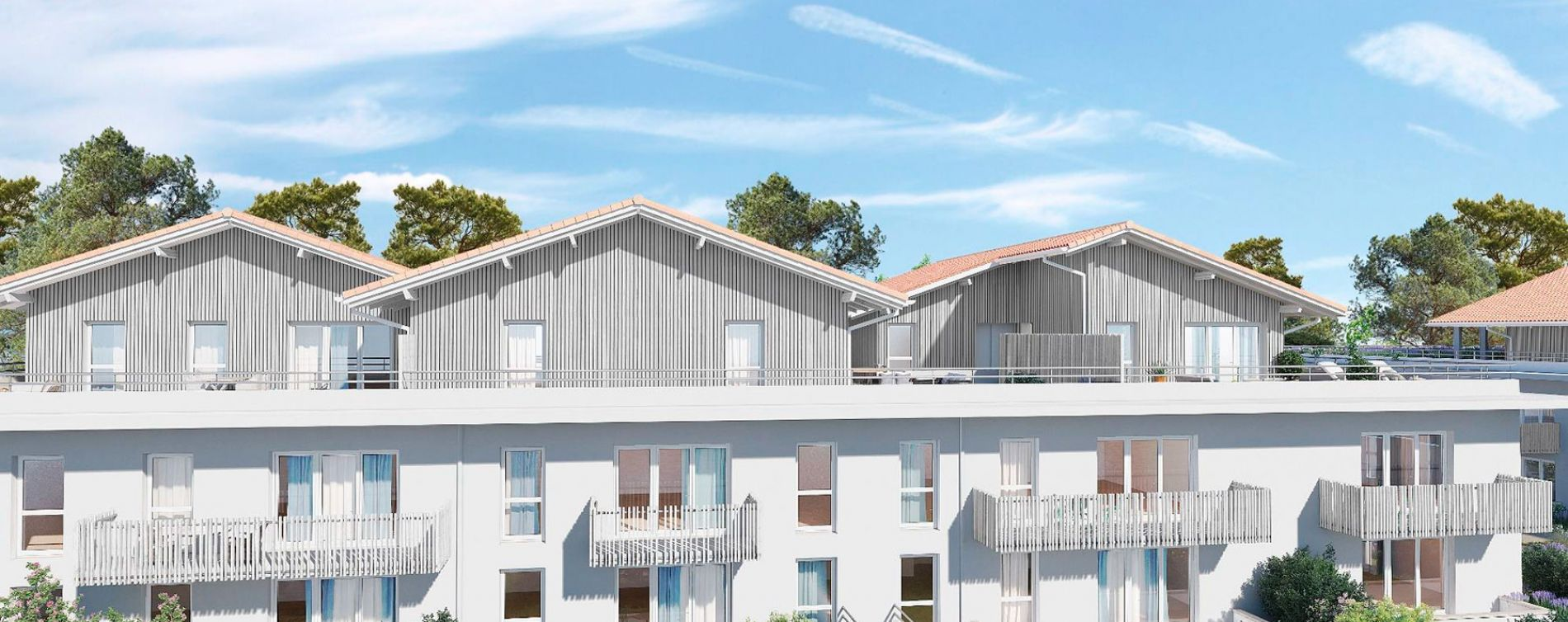 Capbreton : programme immobilier neuve « Origin'Air » (2)