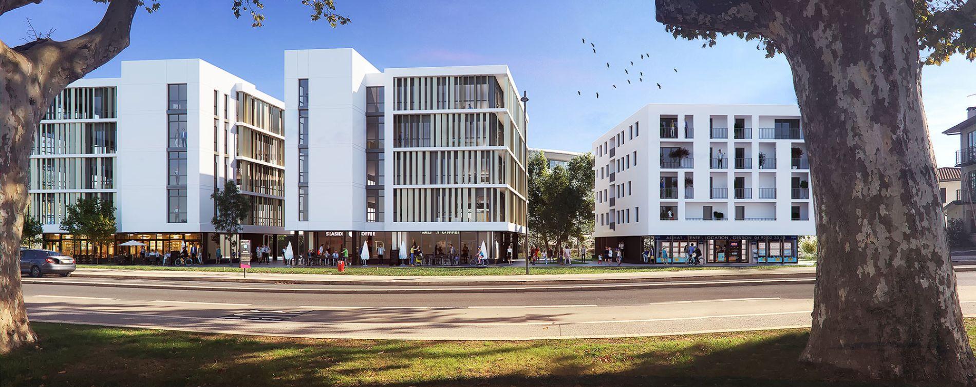 Dax : programme immobilier neuve « Connexion »