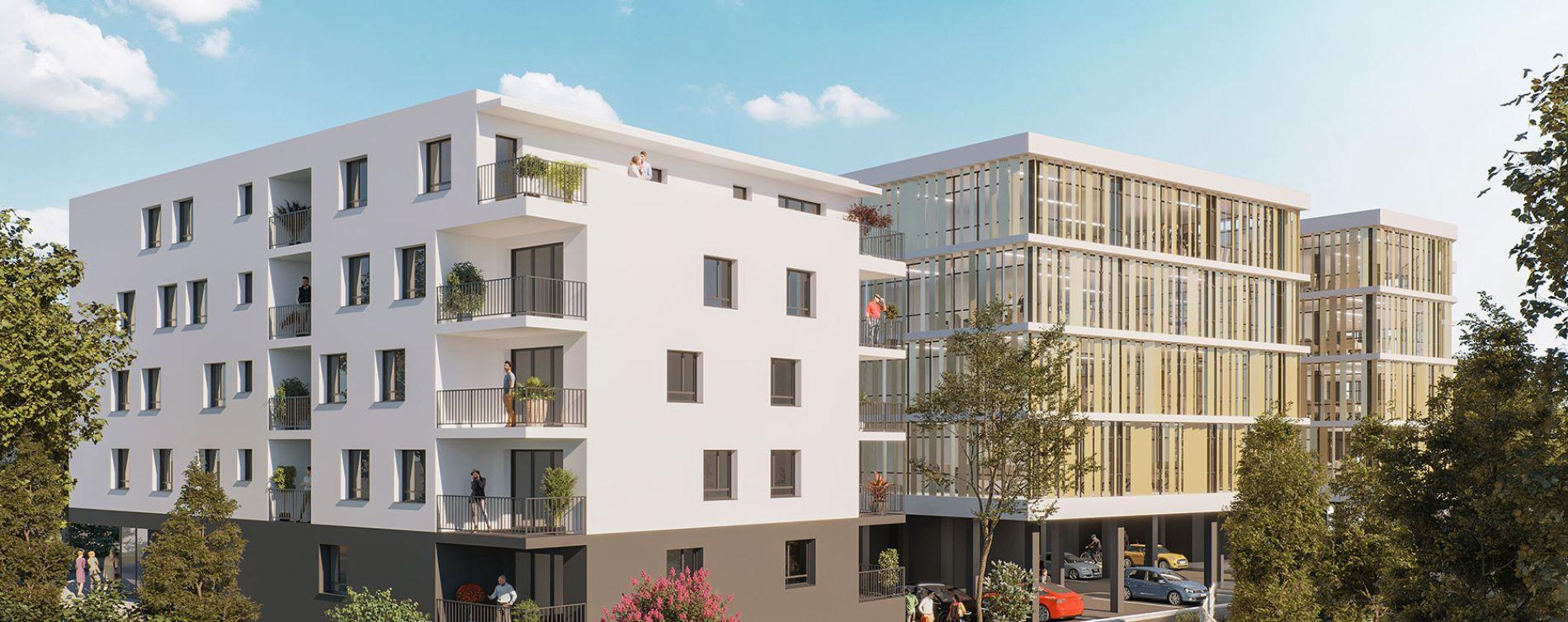 Dax : programme immobilier neuve « Connexion » (2)