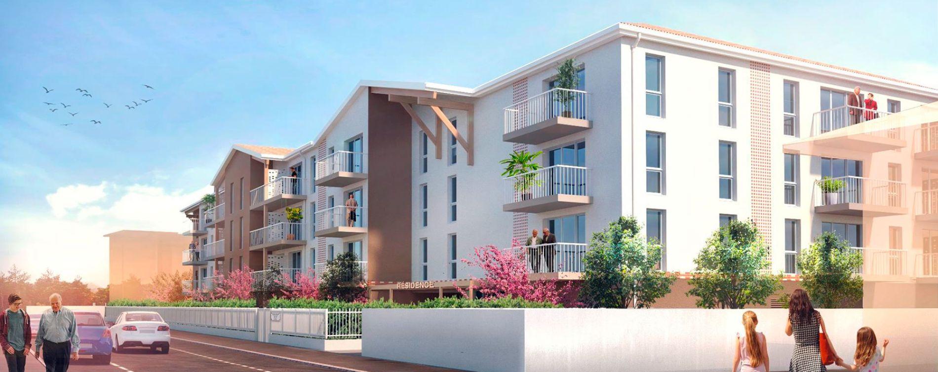 Dax : programme immobilier neuve « Les Senioriales »