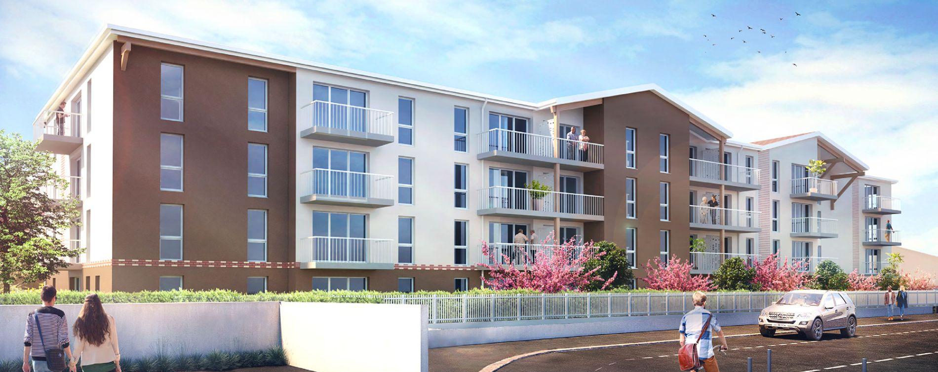Dax : programme immobilier neuve « Les Senioriales » (2)
