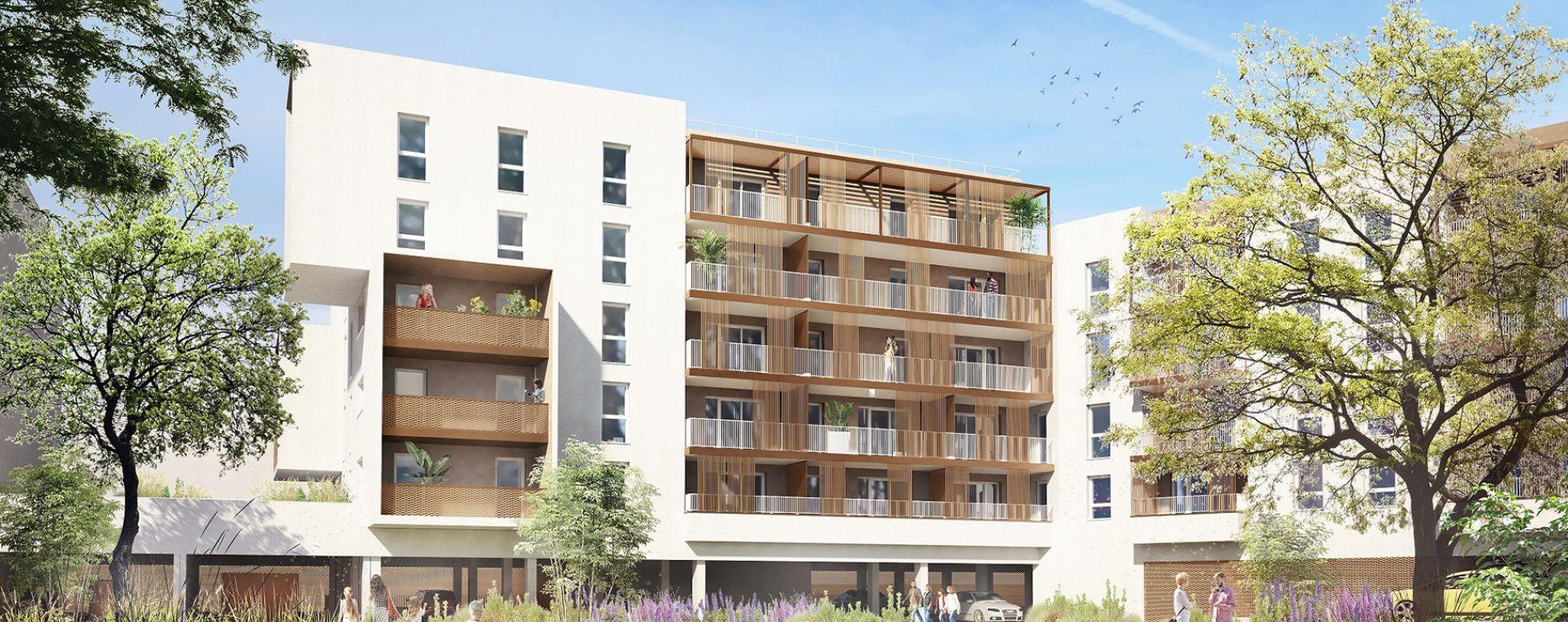 Mont-de-Marsan : programme immobilier neuve « In City »