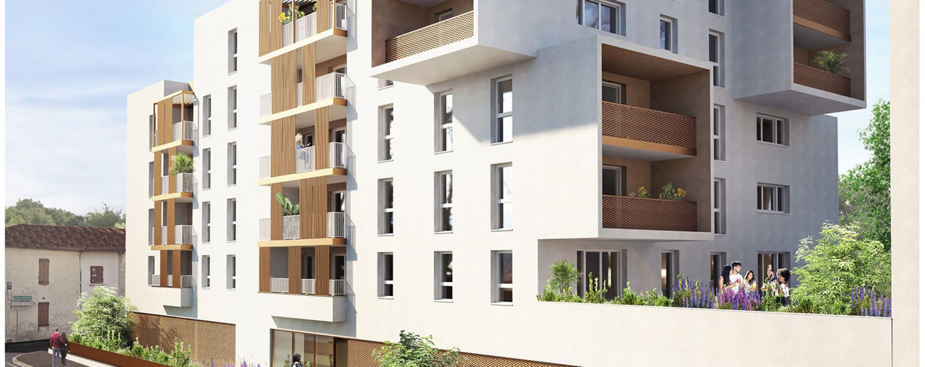 Mont-de-Marsan : programme immobilier neuve « In City » (2)