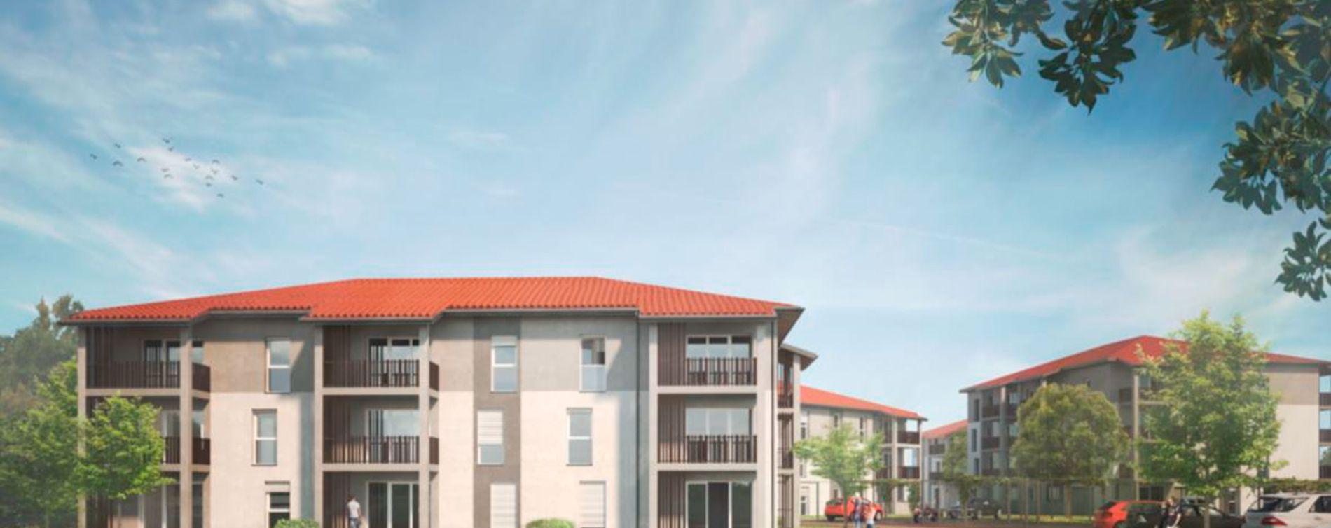 Mont-de-Marsan : programme immobilier neuve « L'Âme Ô »
