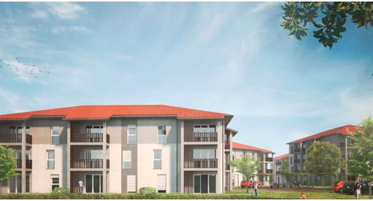 Photo du Résidence « L'Âme Ô » programme immobilier neuf à Mont-de-Marsan