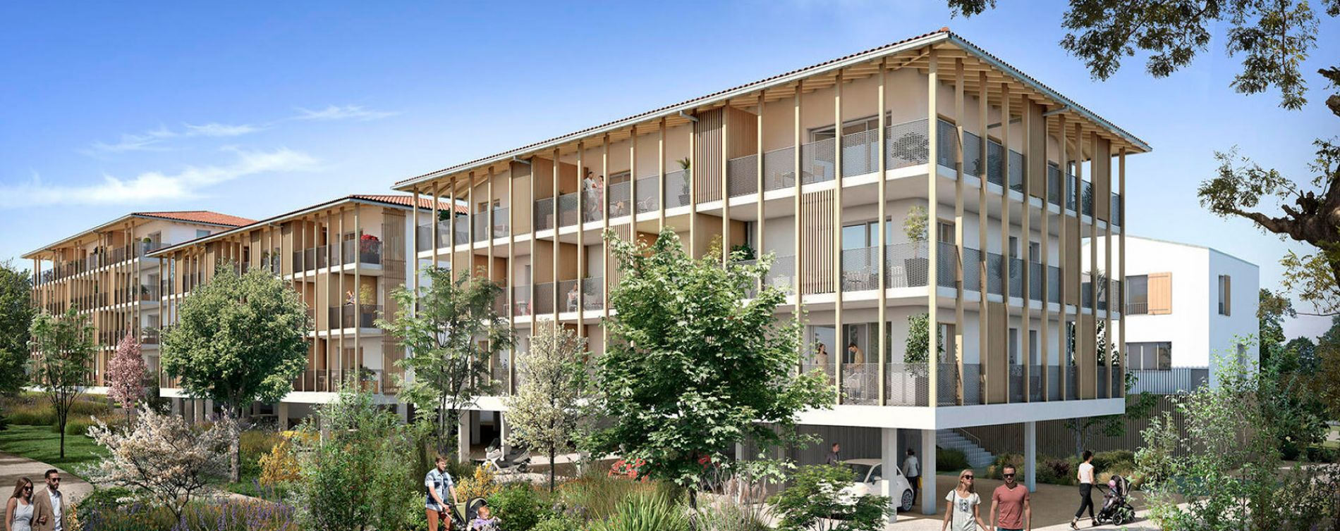 Ondres : programme immobilier neuve « Programme immobilier n°217512 » (2)