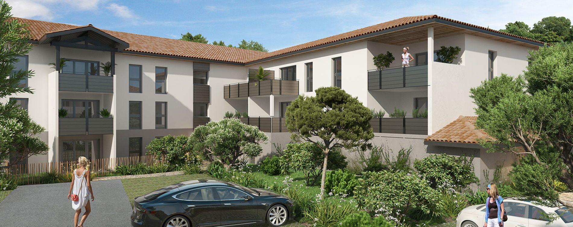 Saint-Paul-lès-Dax : programme immobilier neuve « Les Fauvettes »