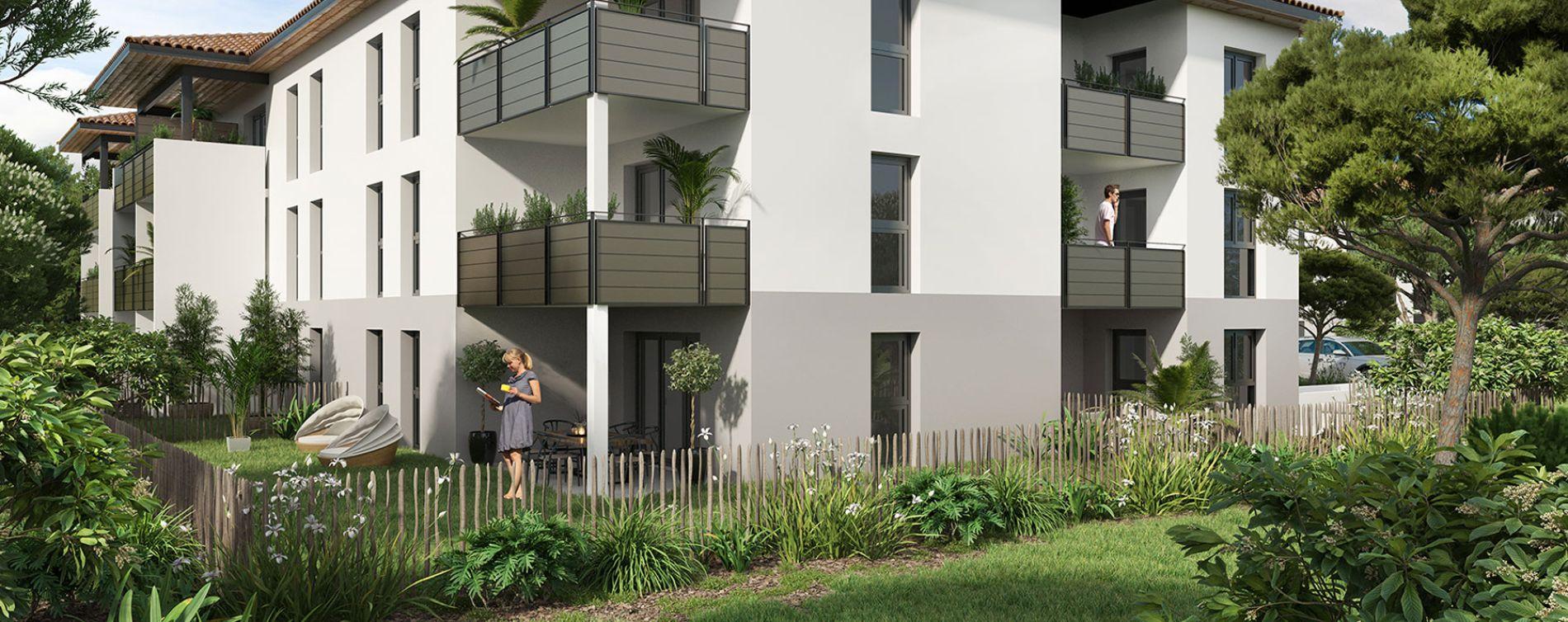 Saint-Paul-lès-Dax : programme immobilier neuve « Les Fauvettes » (2)