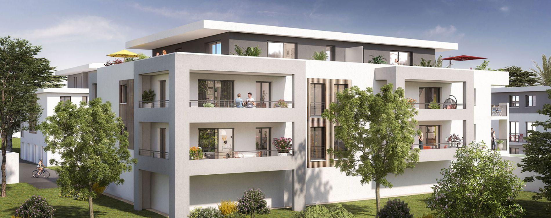 Saint-Paul-lès-Dax : programme immobilier neuve « Les Jardins des Acacias »