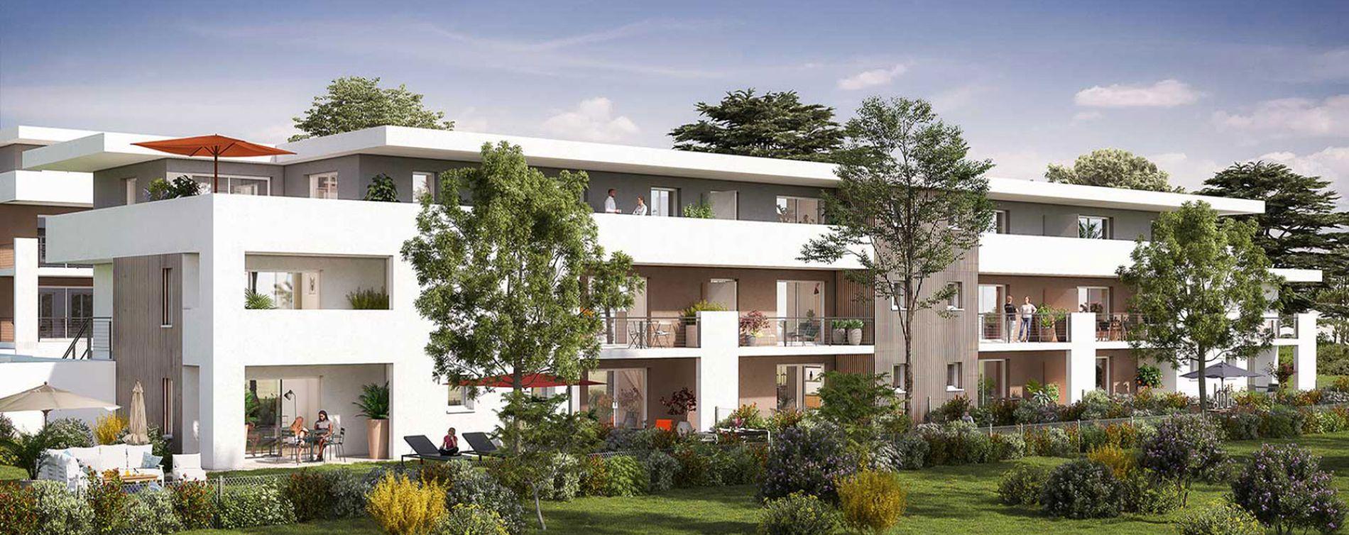 Saint-Paul-lès-Dax : programme immobilier neuve « Les Jardins des Acacias » (2)