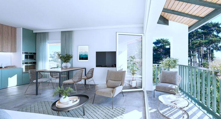 Photo n°2 du Résidence « Villa Ondine » programme immobilier neuf à Sanguinet
